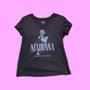 ☀️ Madonna Who's That Girl World Tour V Neck
